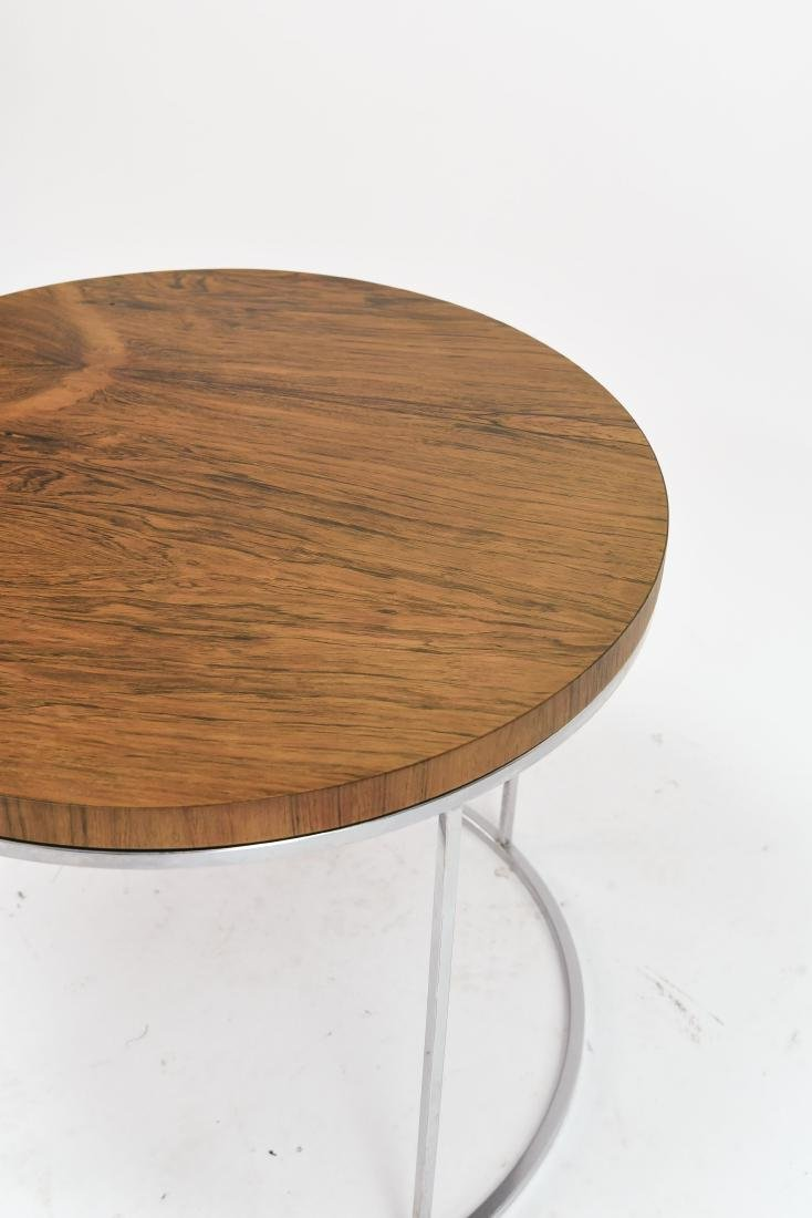 MILO BAUGHMAN ROSEWOOD SIDE TABLE - 5