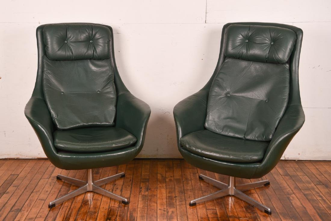 PAIR OF H.W. KLEIN FOR BRAMIN LOUNGE CHAIRS