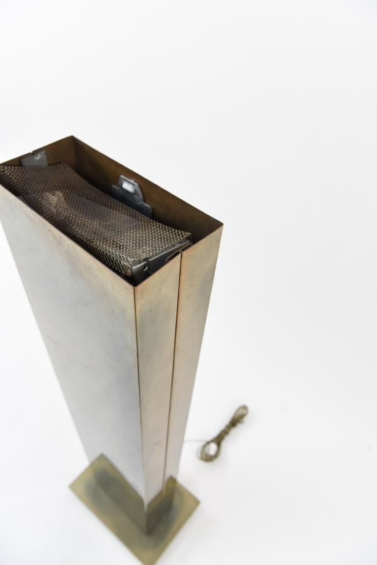 MID CENTURY BRASS FLOOR LAMP - 4
