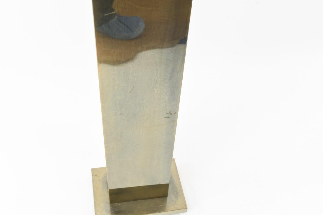 MID CENTURY BRASS FLOOR LAMP - 5