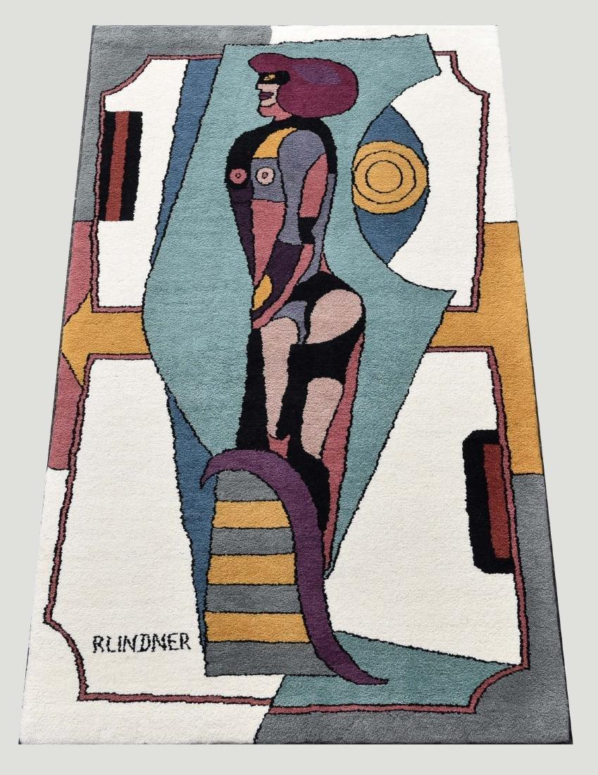 RICHARD LIDNER (AMERICAN/GERMAN 1901-1978) RUG