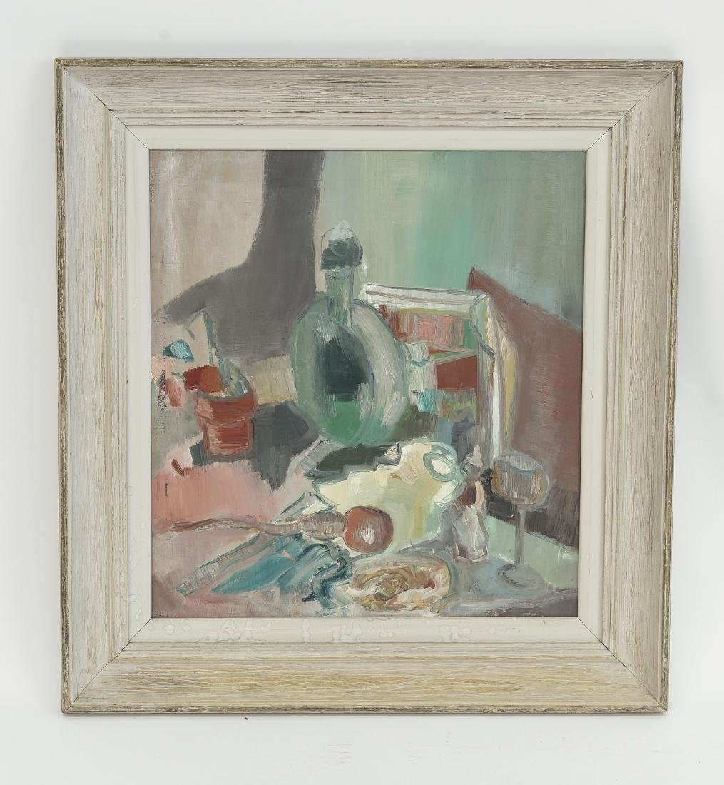 MID-CENTURY ABSTRACT STILL LIFE C. 1950's