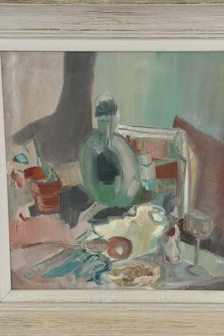MID-CENTURY ABSTRACT STILL LIFE C. 1950's - 2