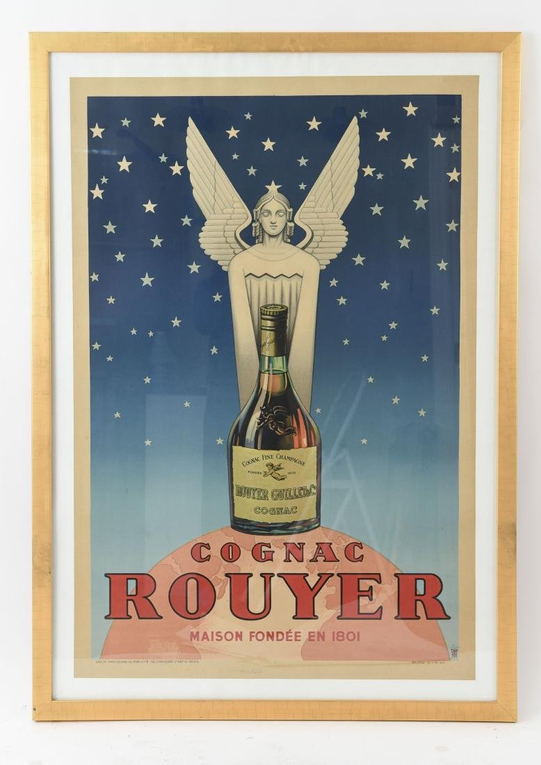 ROUYER COGNAC FRENCH POSTER