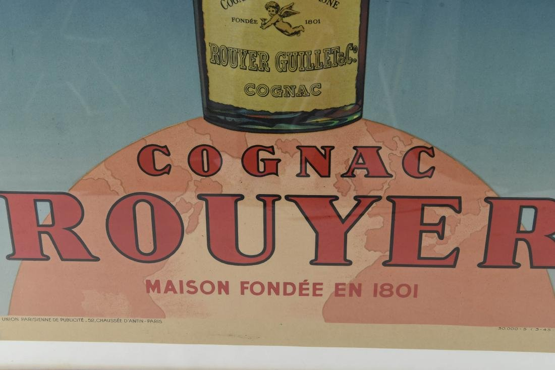 ROUYER COGNAC FRENCH POSTER - 6