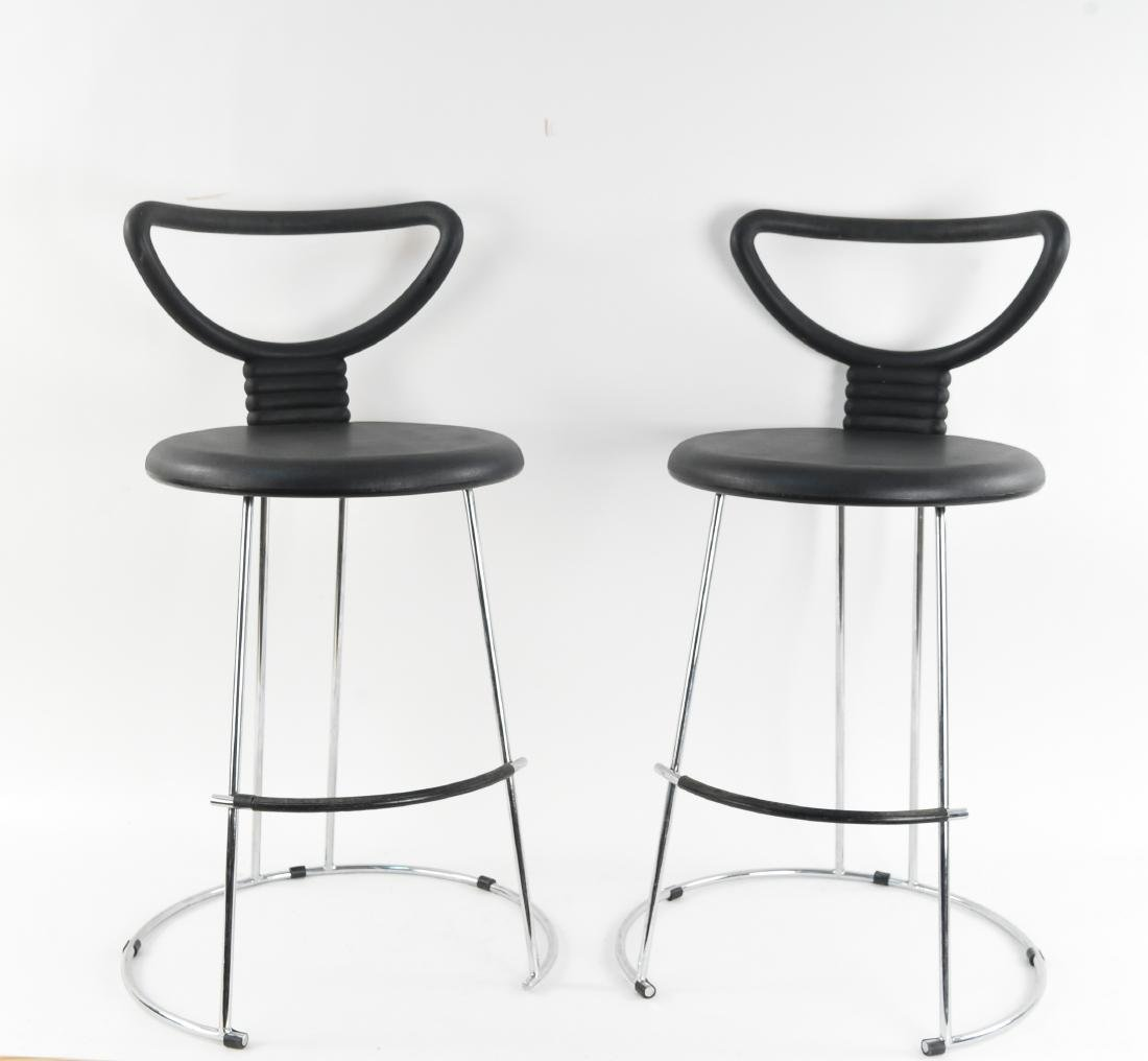 PAIR OF FASEM ITALIAN STOOLS