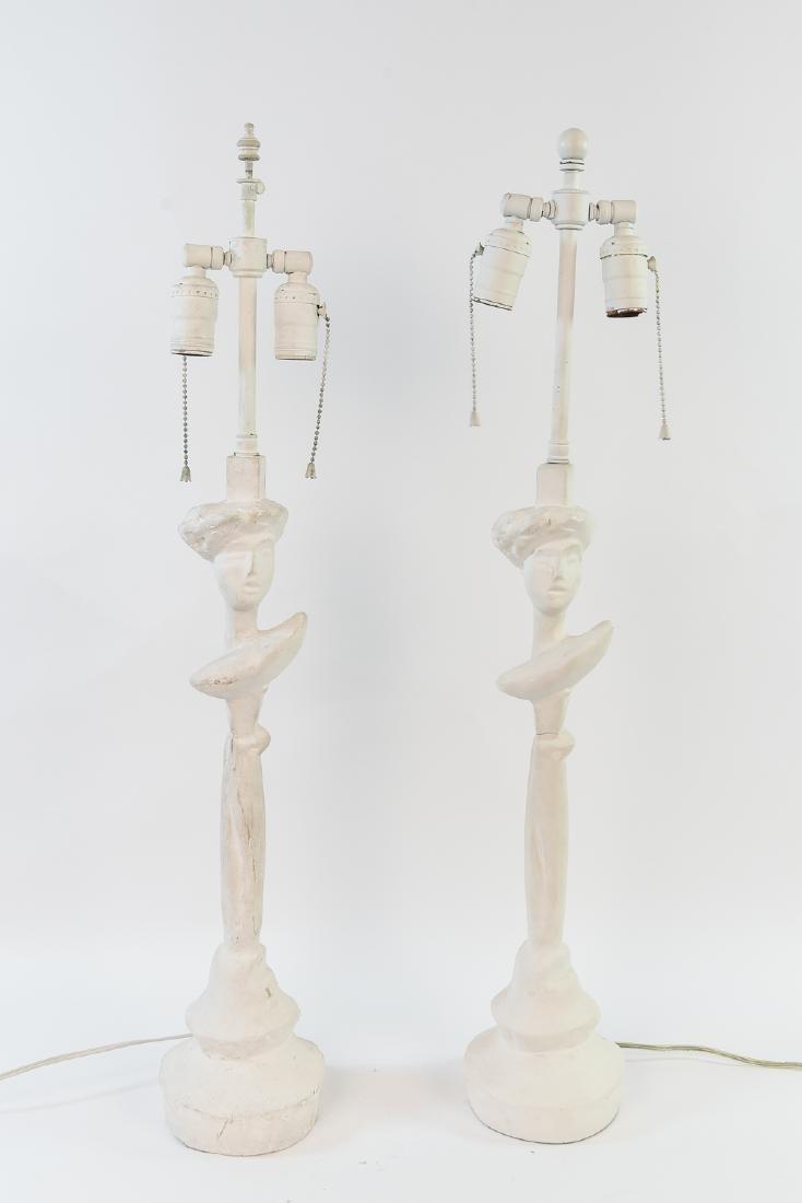 TETE DE FEME GIACOMETTI STYLE SIRMOS LAMPS