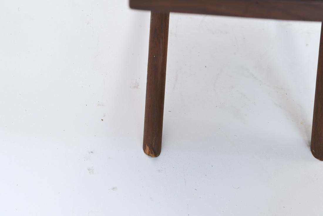 (3) MID-CENTURY WIDDICOMB STYLE WOODEN SIDE TABLES - 8