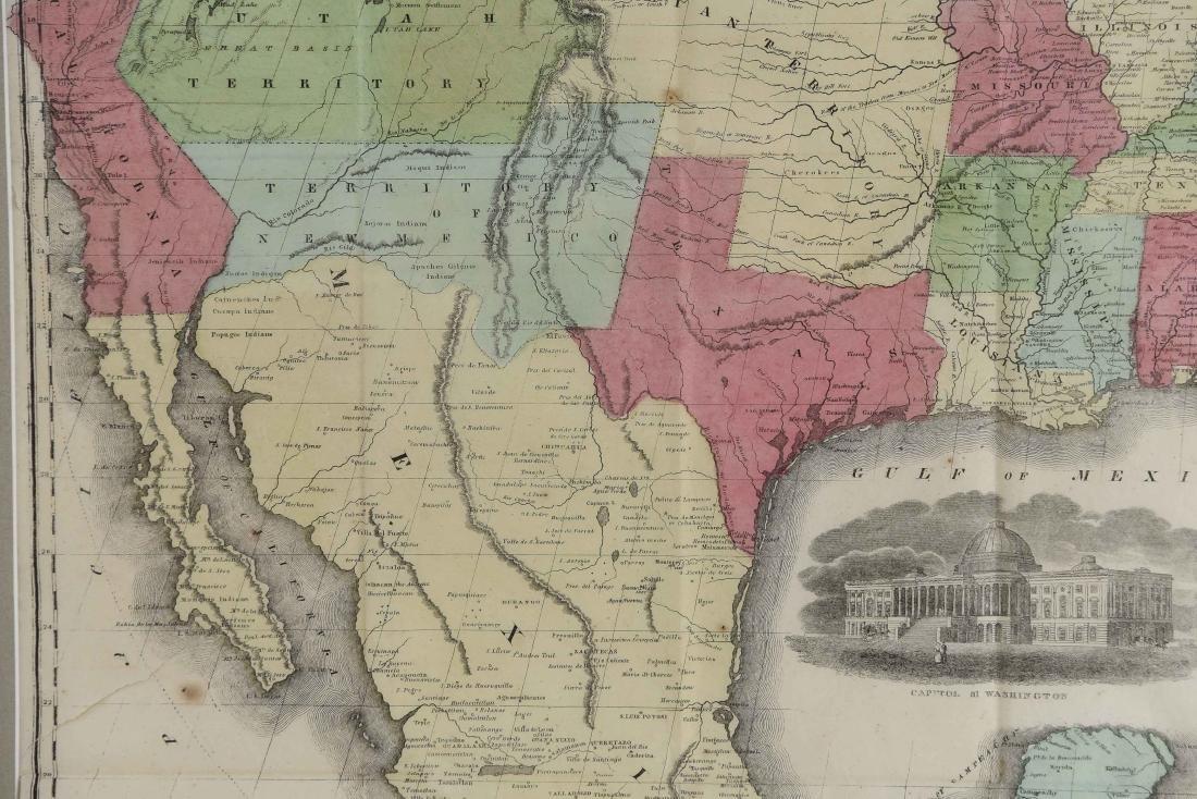 RARE 1852 CASE TIFFANY & CO. MAP OF U.S. - 3