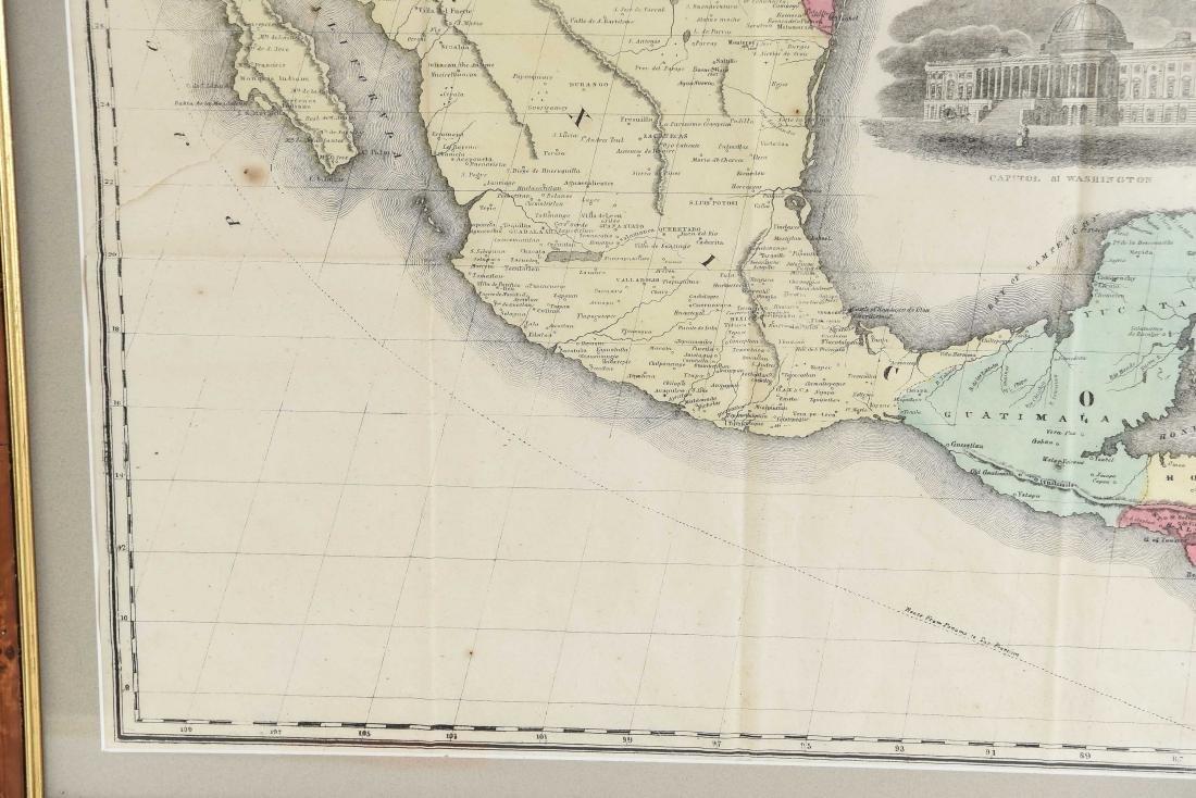 RARE 1852 CASE TIFFANY & CO. MAP OF U.S. - 4