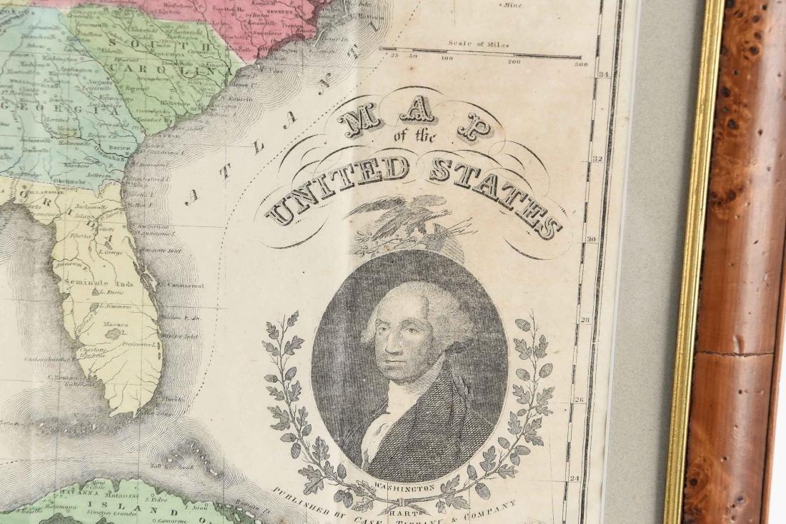 RARE 1852 CASE TIFFANY & CO. MAP OF U.S. - 6