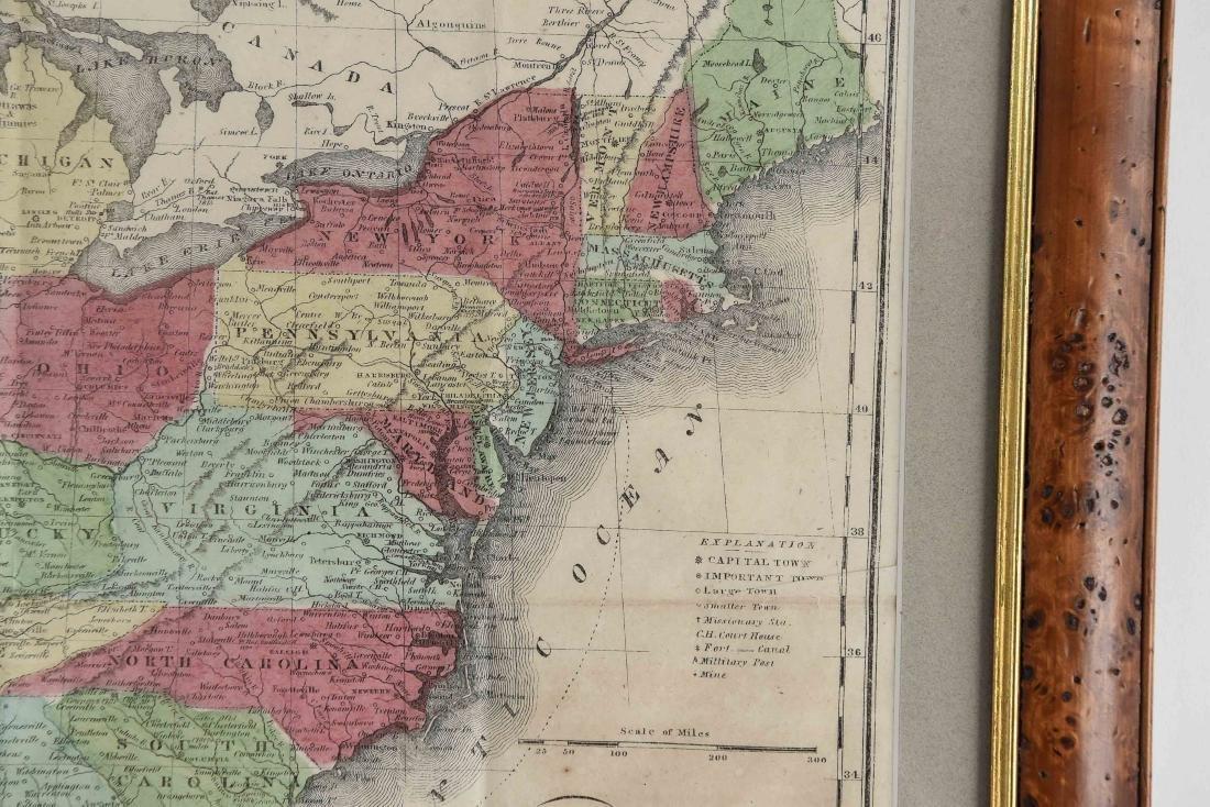 RARE 1852 CASE TIFFANY & CO. MAP OF U.S. - 7