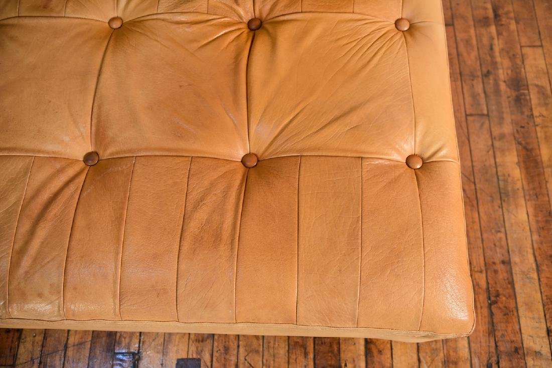 DE SEDE STYLE DANISH LEATHER SOFA / DAYBED - 6
