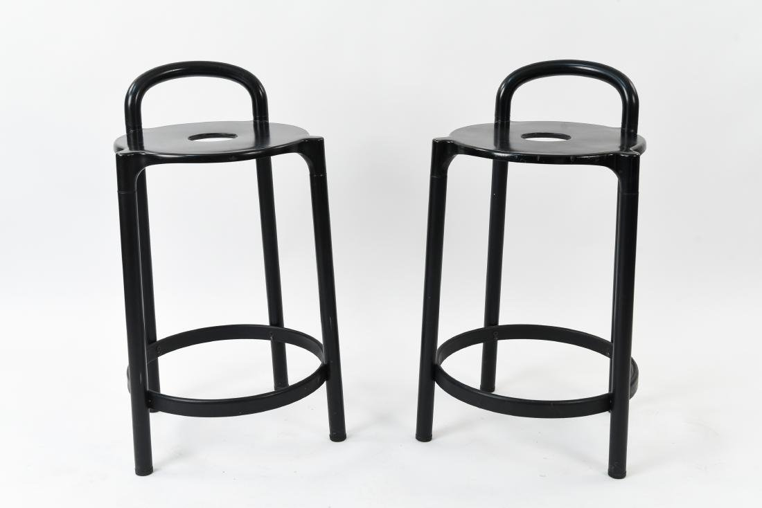 PAIR OF KARTELL STOOLS BY ANNA CASTELLI, ITALY