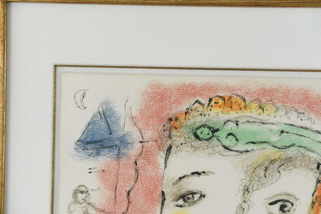 MARC CHAGALL LITHO FROM ODYSSEY II 1975 - 3