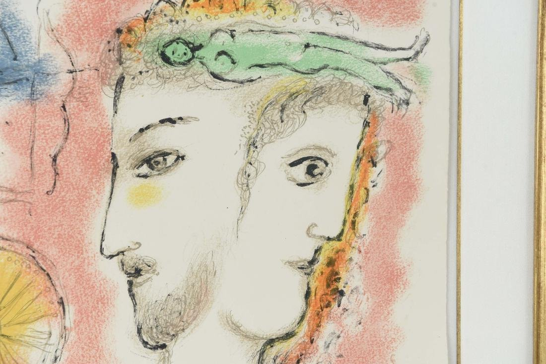 MARC CHAGALL LITHO FROM ODYSSEY II 1975 - 4