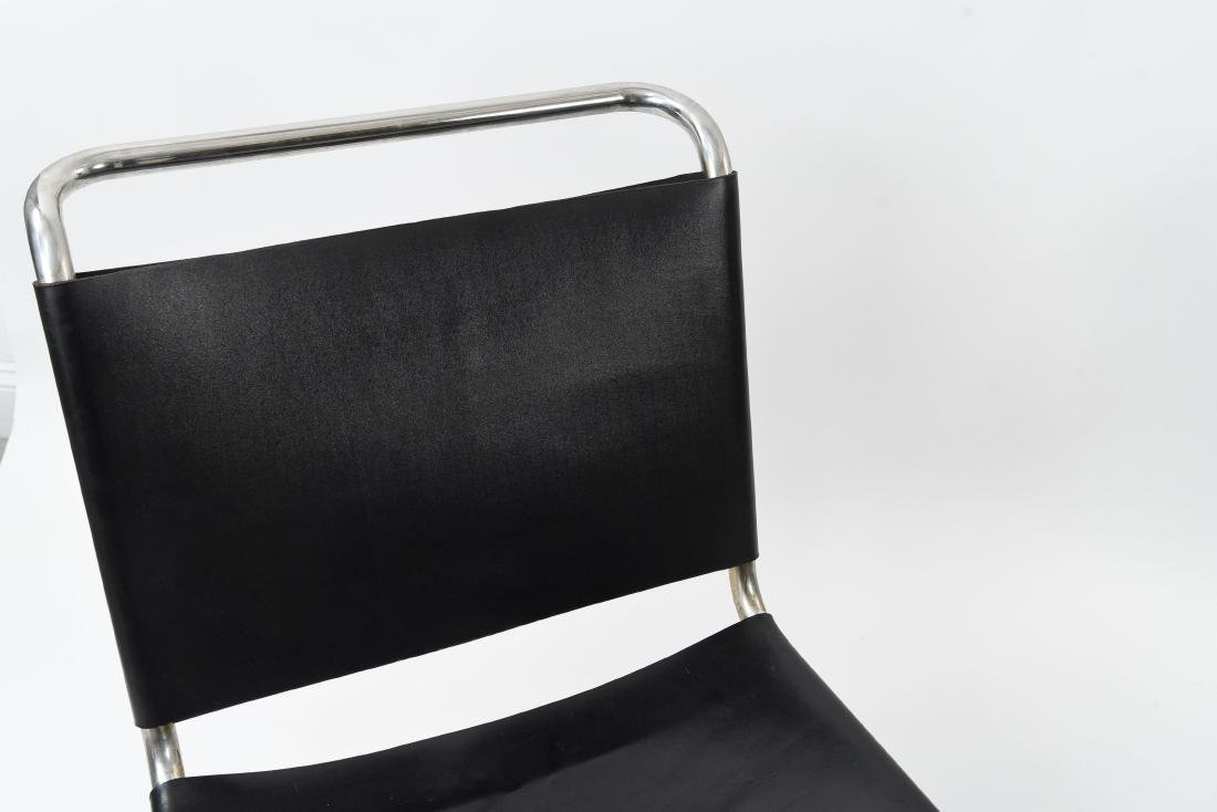 PAIR LOUNGE CHAIR BY MIES VAN DER ROHE FOR KNOLL - 3