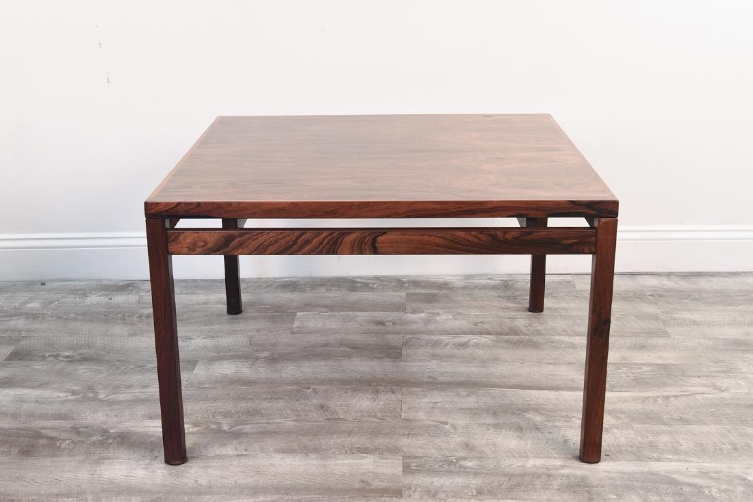 DANISH MID CENTURY ROSEWOOD COFFEE TABLE