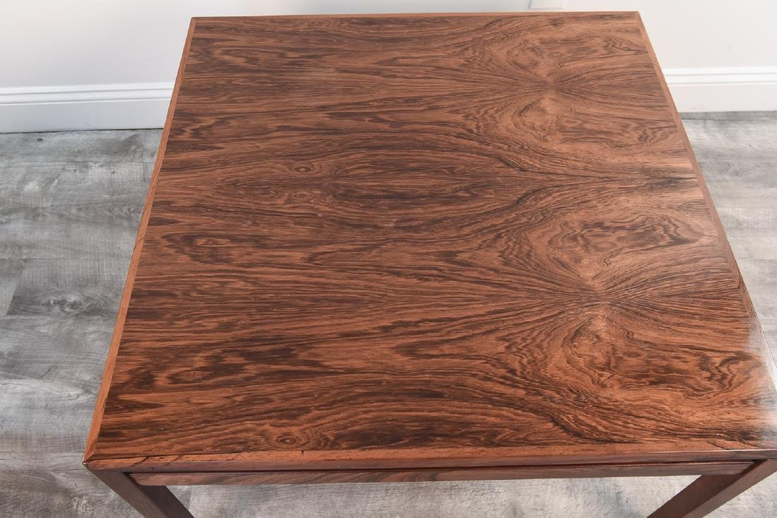 DANISH MID CENTURY ROSEWOOD COFFEE TABLE - 2