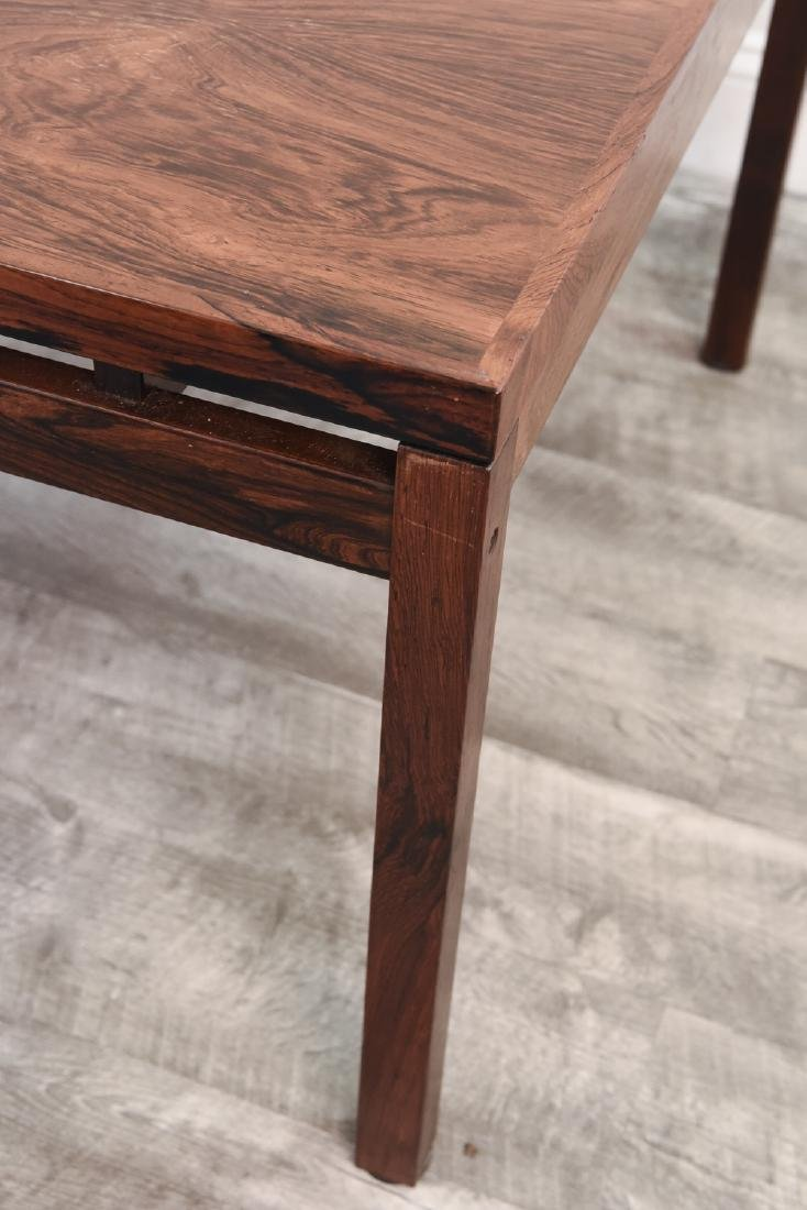 DANISH MID CENTURY ROSEWOOD COFFEE TABLE - 4