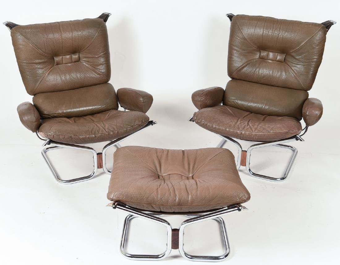HARALD RELLING FOR WESTNOFA LOUNGE CHAIR SUITE