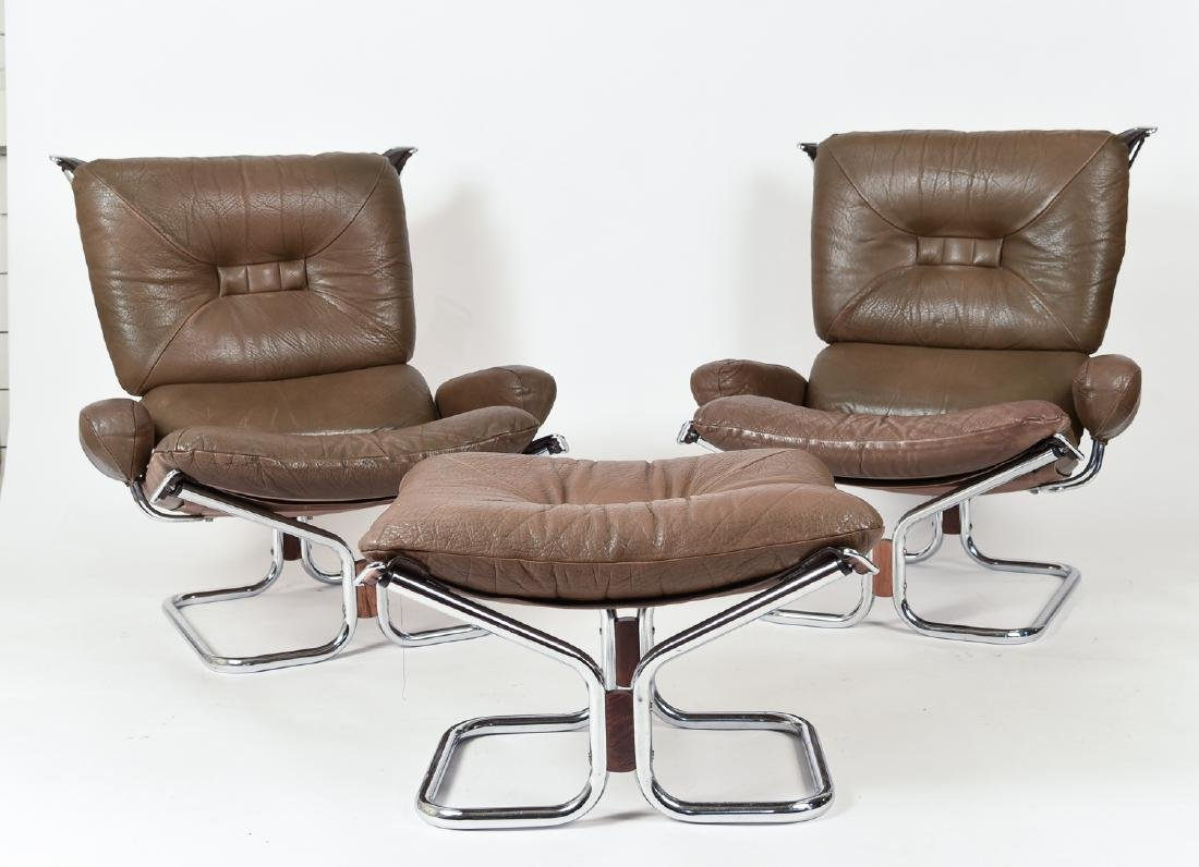 HARALD RELLING FOR WESTNOFA LOUNGE CHAIR SUITE - 2