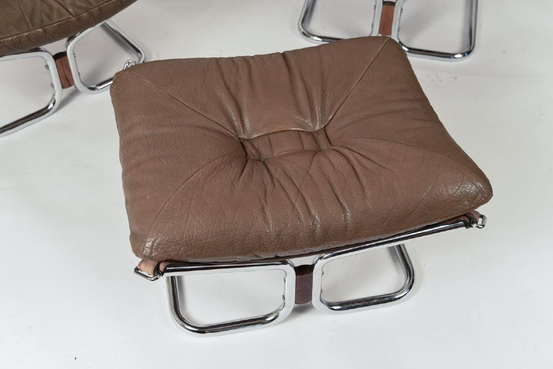 HARALD RELLING FOR WESTNOFA LOUNGE CHAIR SUITE - 3