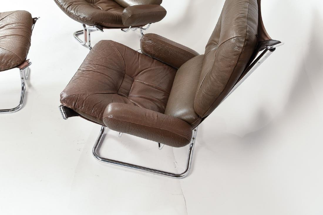 HARALD RELLING FOR WESTNOFA LOUNGE CHAIR SUITE - 6