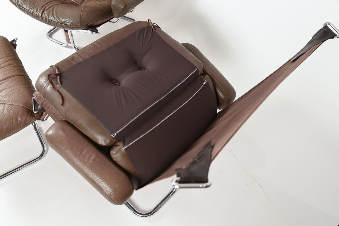 HARALD RELLING FOR WESTNOFA LOUNGE CHAIR SUITE - 7