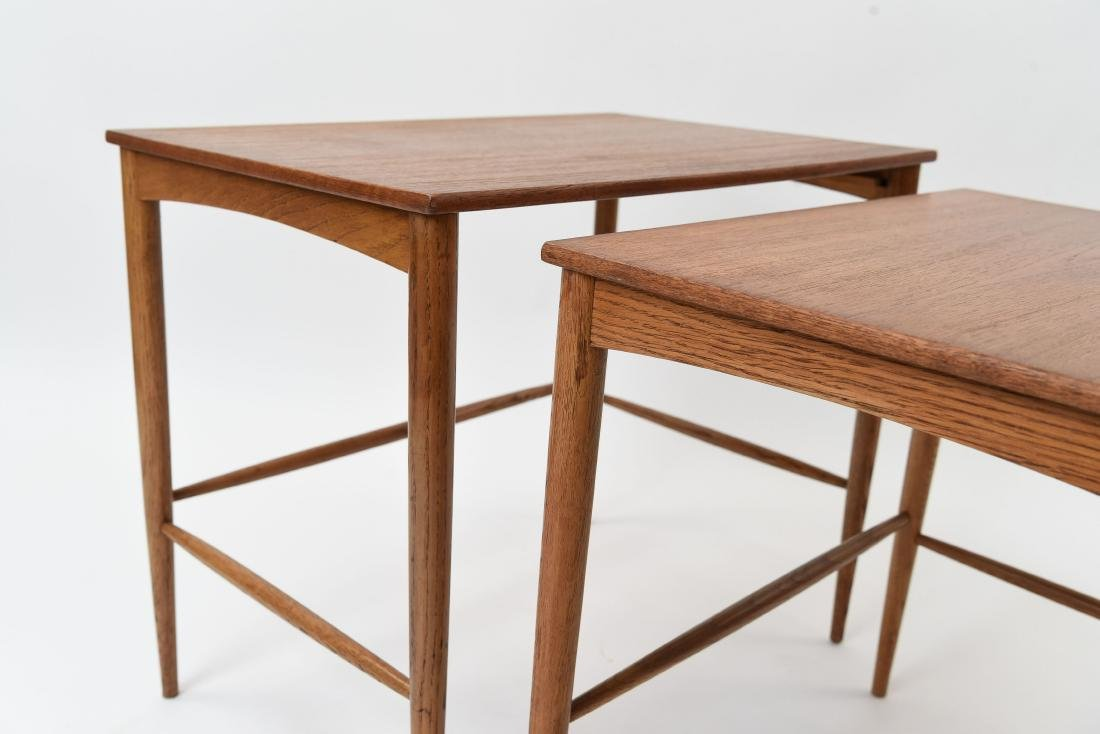 SET OF (3) SWEDISH NESTING TABLES BY DUX - 8