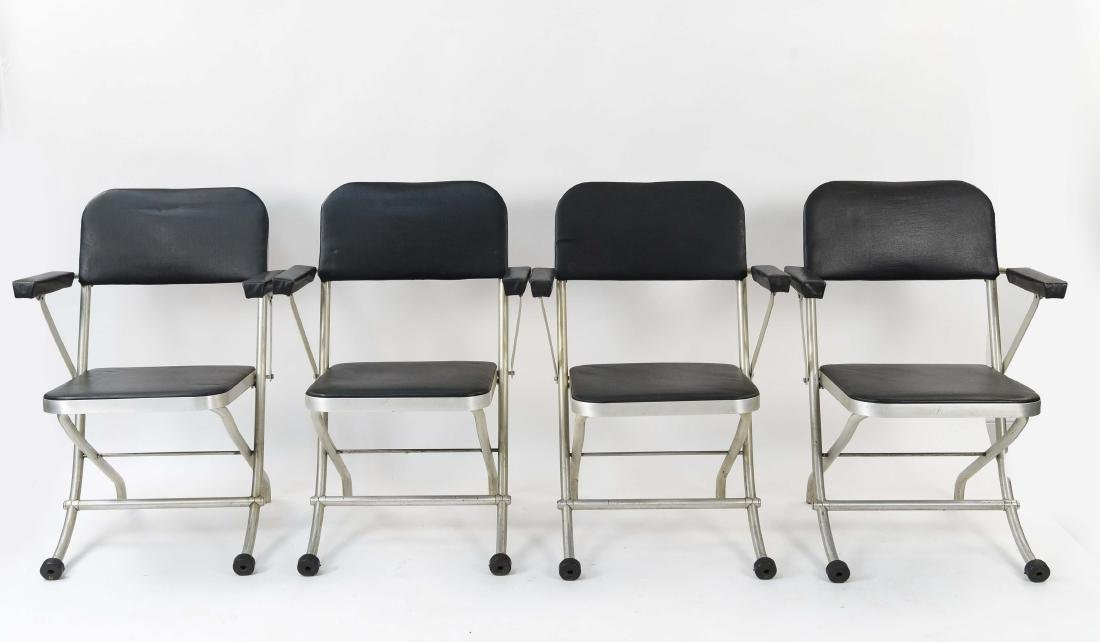 (4) WARREN MCARTHUR ALUMINUM FOLDING CHAIRS