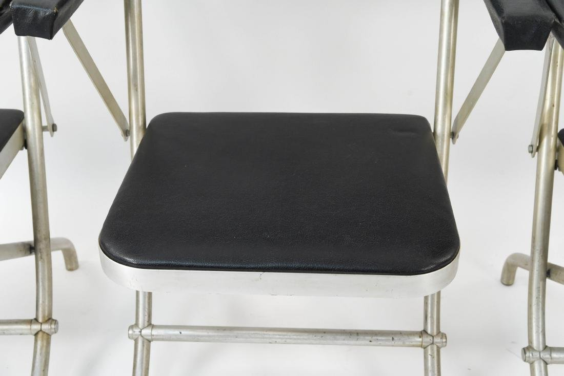 (4) WARREN MCARTHUR ALUMINUM FOLDING CHAIRS - 3