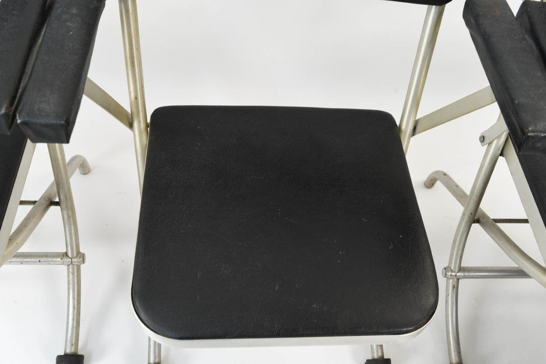 (4) WARREN MCARTHUR ALUMINUM FOLDING CHAIRS - 6