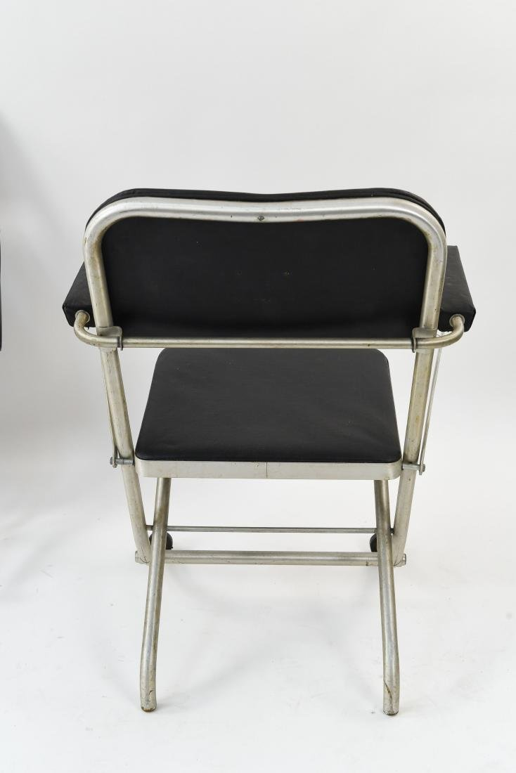 (4) WARREN MCARTHUR ALUMINUM FOLDING CHAIRS - 9