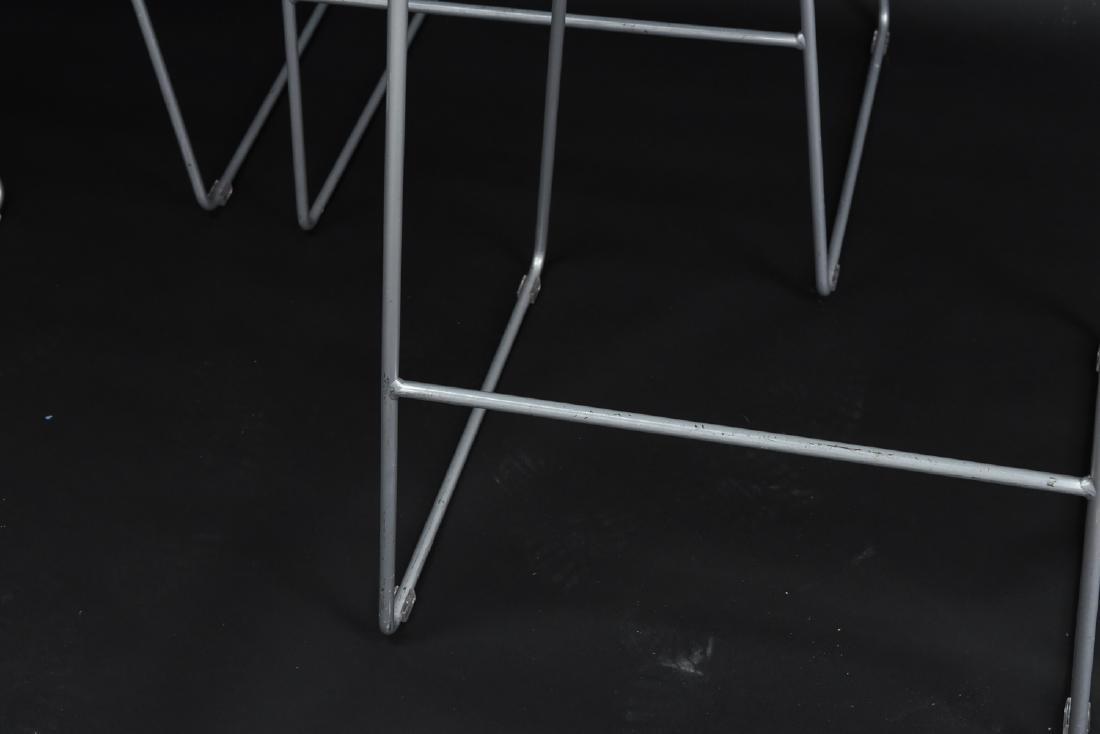 (4) TURNSTONE SCOOP BAR STOOLS - 4
