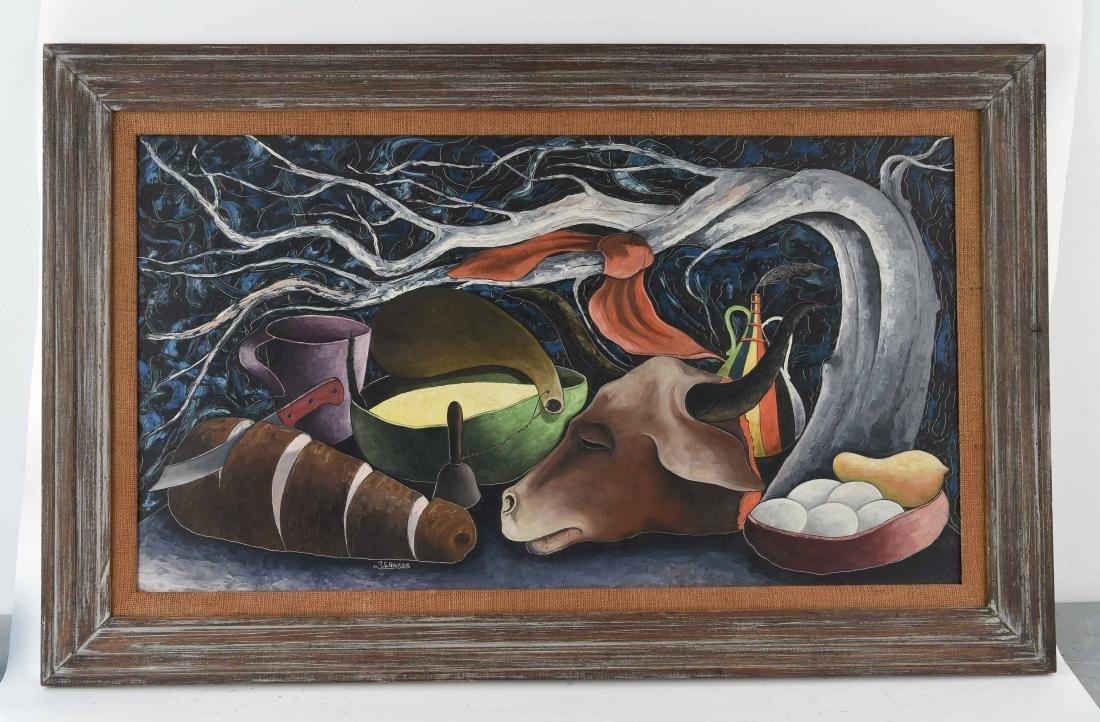 JACQUES ENGUERRAND GOURGUE (HAITIAN 1930–1996)