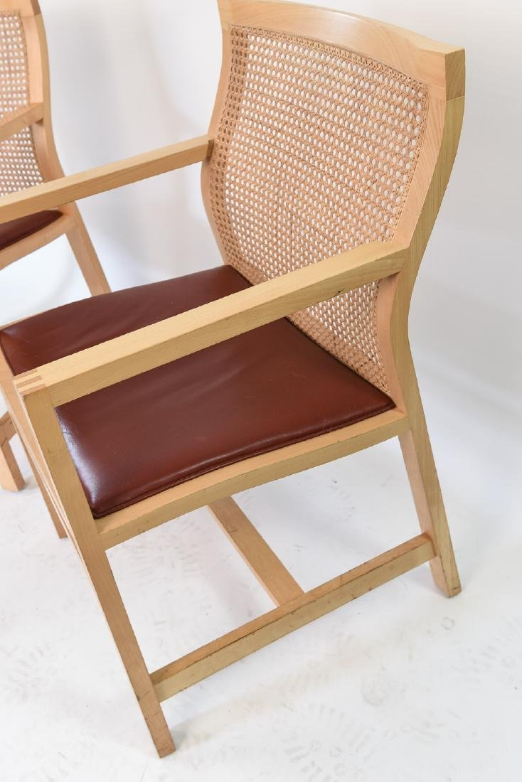 PAIR OF RUD THYGESEN & JOHNNY BOTIUM CHAIRS - 6