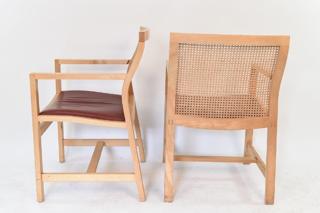 PAIR OF RUD THYGESEN & JOHNNY BOTIUM CHAIRS - 9