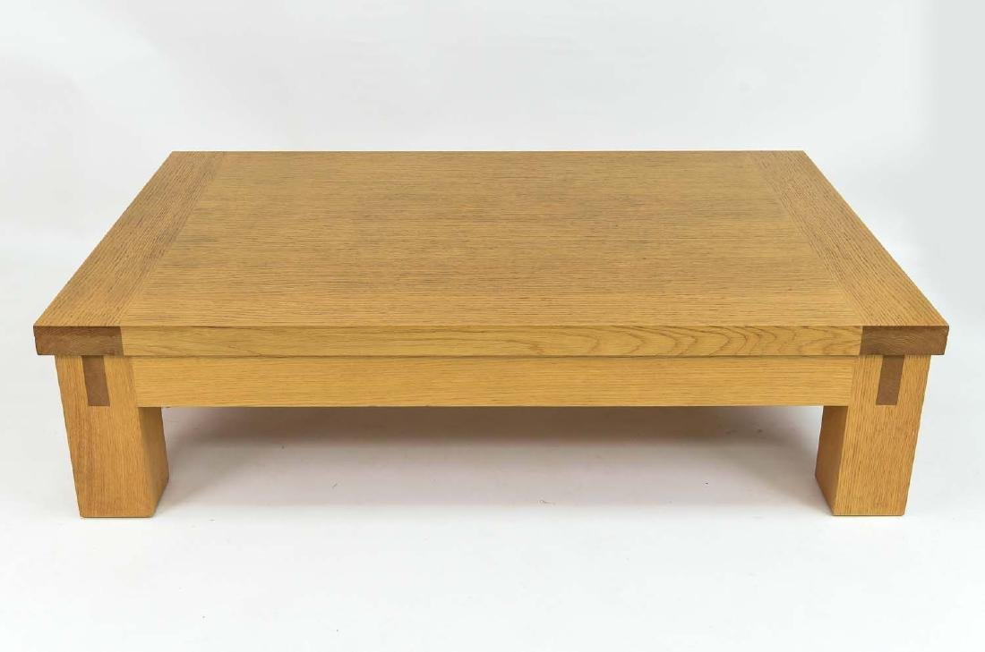 CHRISTIAN LIAIGRE; HOLLY HUNT COCKTAIL TABLE