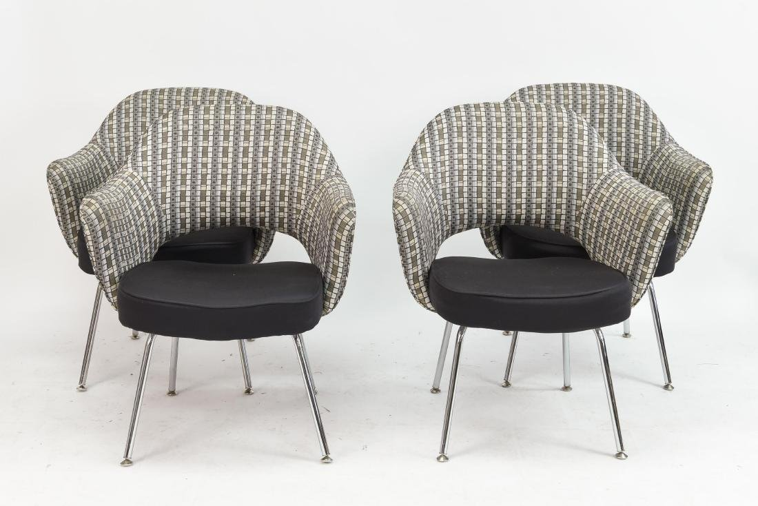 (4) SAARINEN EXECUTIVE ARM CHAIRS