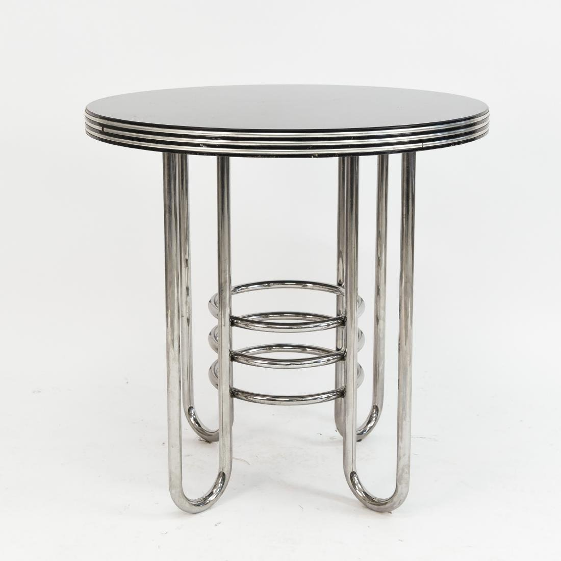 ART DECO MACHINE AGE OCCASIONAL TABLE