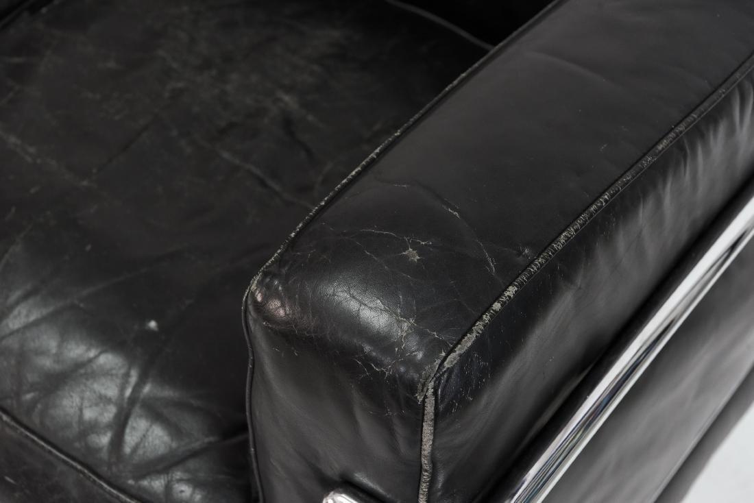 LE CORBUSIER LC2 3 SEAT STYLE SOFA - 5
