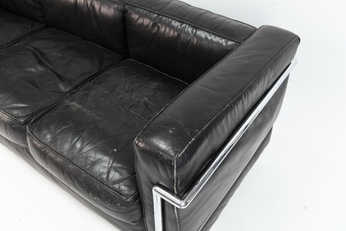 LE CORBUSIER LC2 3 SEAT STYLE SOFA - 6