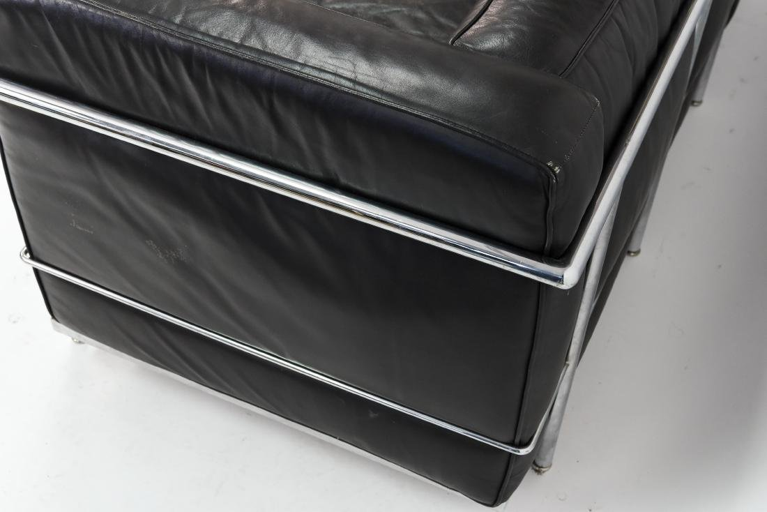 LE CORBUSIER LC2 3 SEAT STYLE SOFA - 7