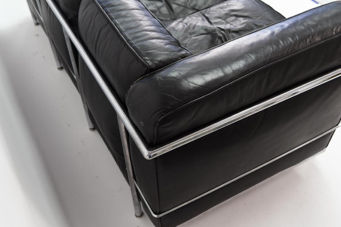 LE CORBUSIER LC2 3 SEAT STYLE SOFA - 9