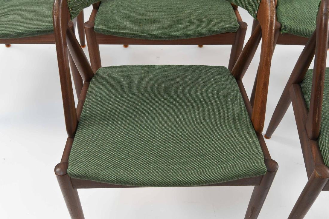 (6) KAI KRISTIANSEN MODEL 31 TEAK DINING CHAIRS - 3