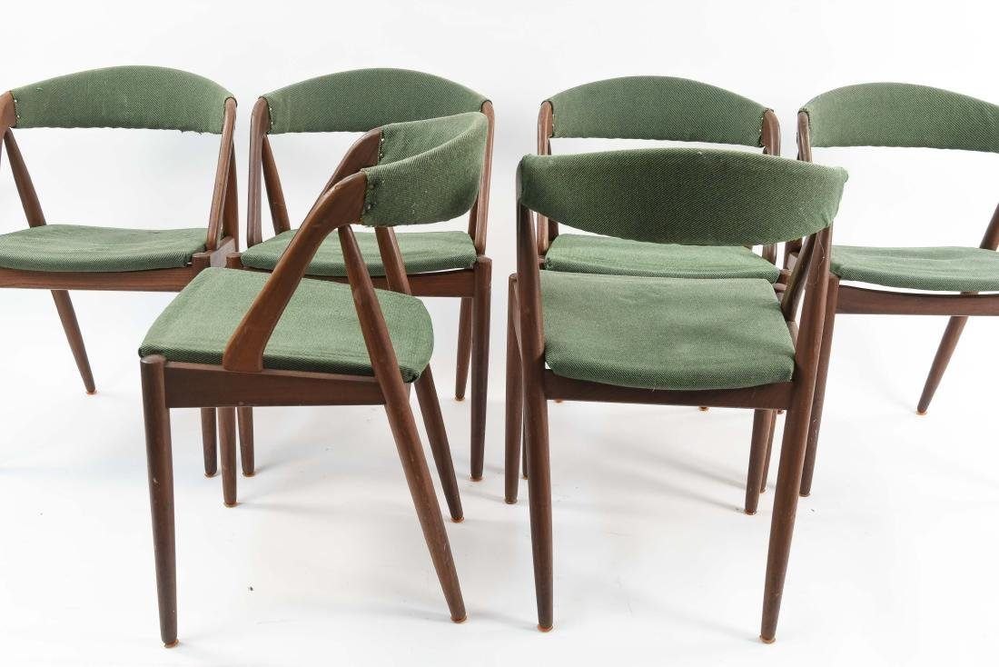 (6) KAI KRISTIANSEN MODEL 31 TEAK DINING CHAIRS - 9
