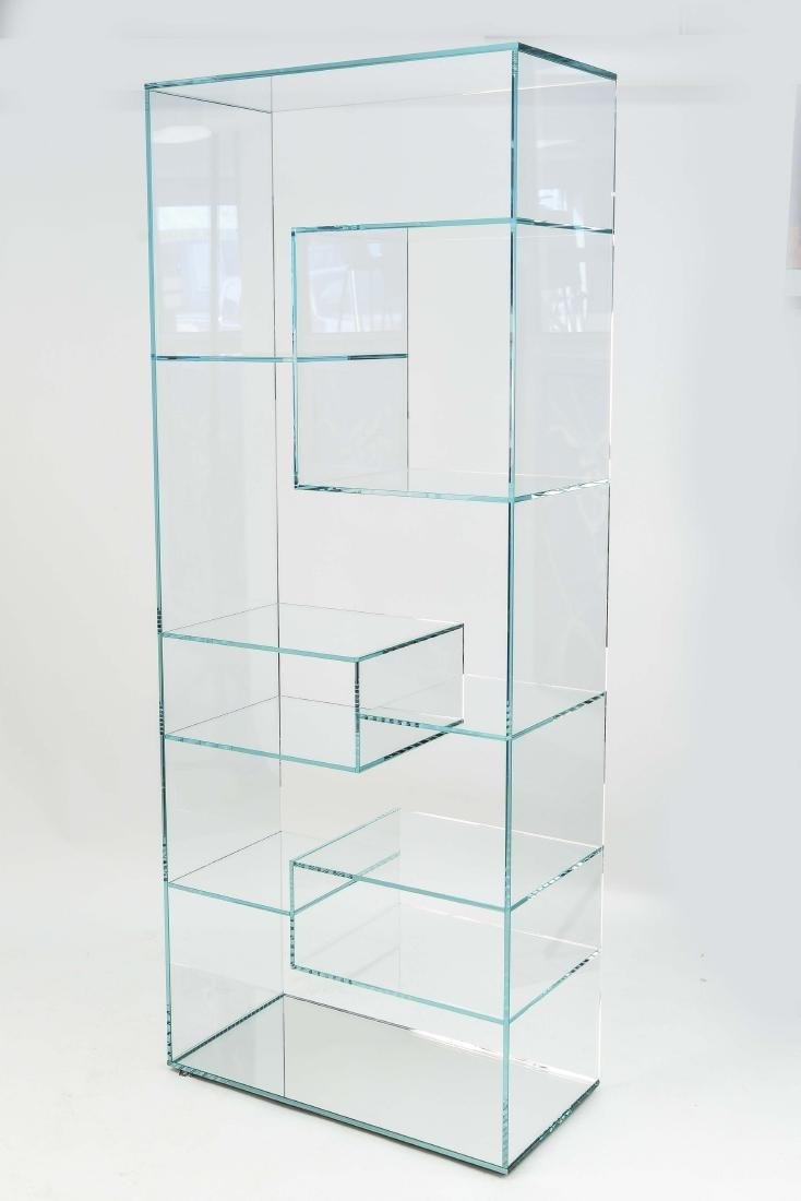 GLASS ETAGERE