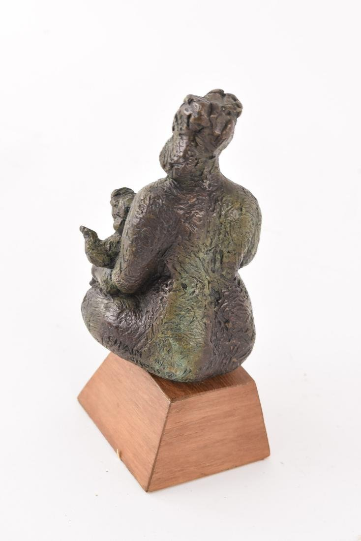 CHAIM GROSS (UKRAINE/AMERICAN 1904-1991) BRONZE - 6