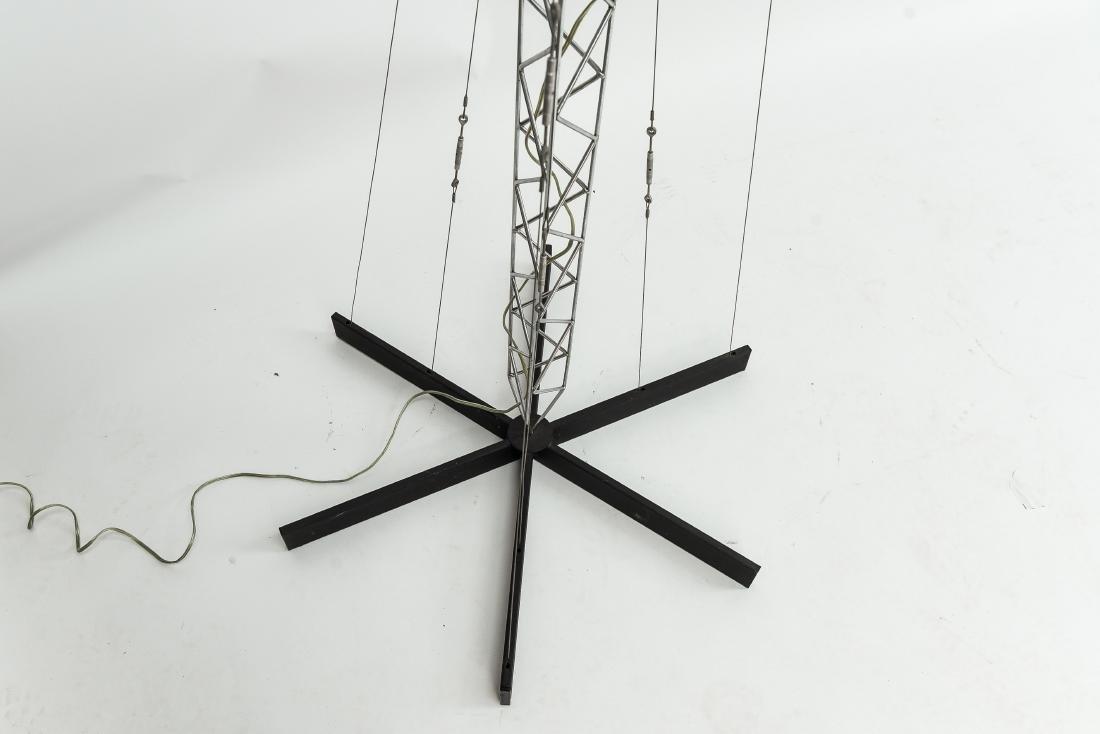 C. JERE CRANE TRUSS COUNTERBALANCE FLOOR LAMP - 2